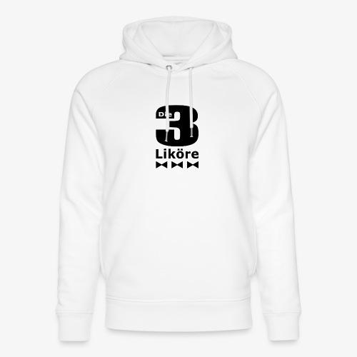 Die 3 Liköre - logo schwarz - Unisex Bio-Hoodie von Stanley & Stella