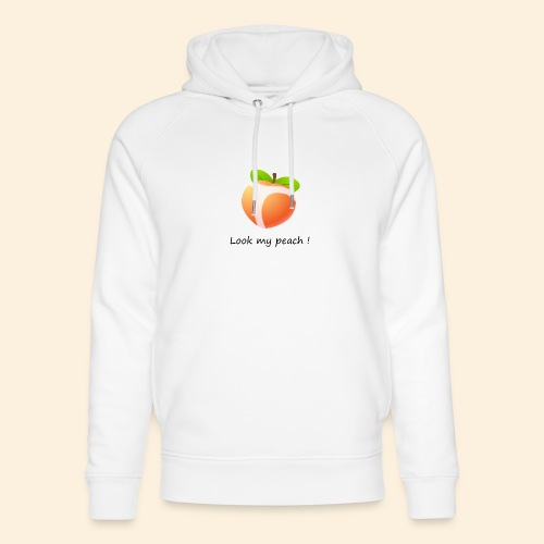 Look my peach - Sweat à capuche bio Stanley & Stella unisexe