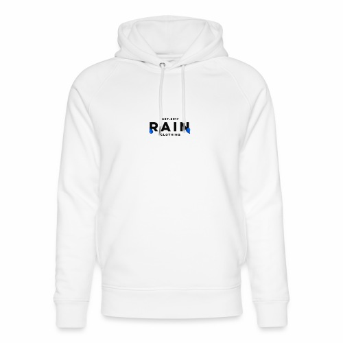 Rain Clothing Tops -ONLY SOME WHITE CAN BE ORDERED - Unisex Organic Hoodie by Stanley & Stella