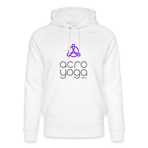 AcroYoga International Logo - Unisex Organic Hoodie by Stanley & Stella