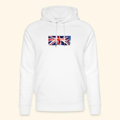 UK flag - Unisex Organic Hoodie by Stanley & Stella
