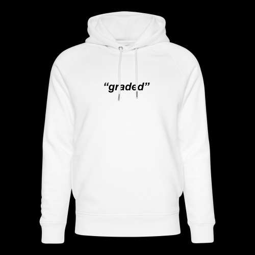 Simple Logo, Graded - Unisex Organic Hoodie by Stanley & Stella