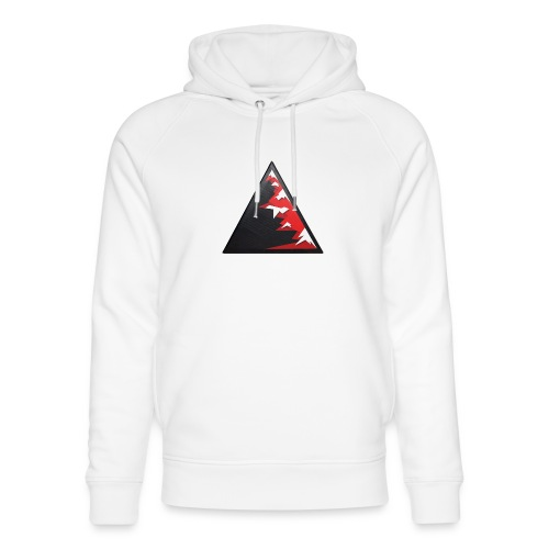 Climb high as a mountains to achieve high - Unisex Organic Hoodie by Stanley & Stella