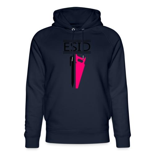 ESID Zwart-roze - Uniseks bio-hoodie van Stanley & Stella