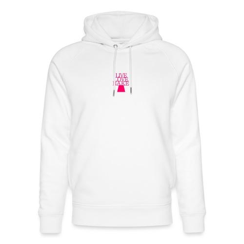 LiveLoveBake2 - Stanley & Stella unisex hoodie af økologisk bomuld