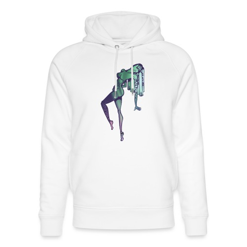 Mama Nature Northern Lights - Unisex Organic Hoodie by Stanley & Stella