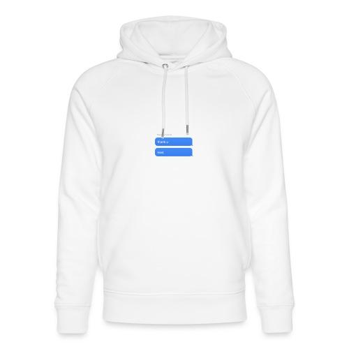 Thank u, next - Uniseks bio-hoodie van Stanley & Stella