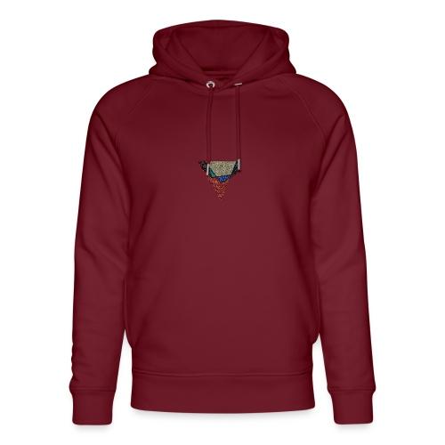 Flip Side Graphite Logo - Unisex Organic Hoodie by Stanley & Stella