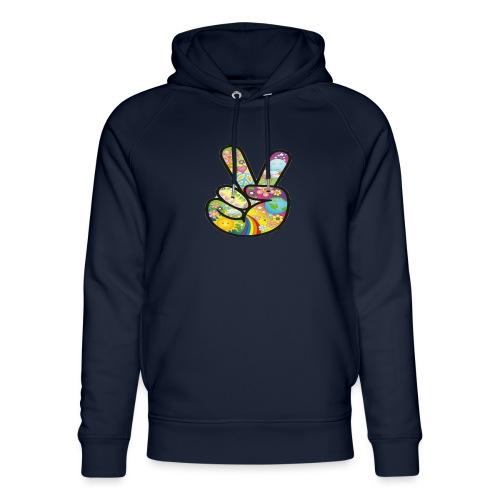 peace - Uniseks bio-hoodie van Stanley & Stella
