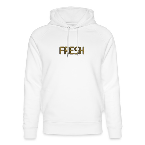 Limited Edition Fresh (Gold) Design - Unisex Organic Hoodie by Stanley & Stella