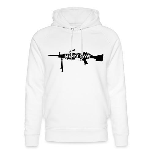 M249 SAW light machinegun design - Uniseks bio-hoodie van Stanley & Stella