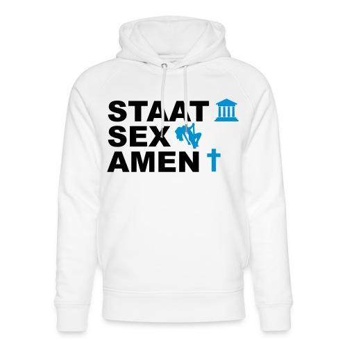 Staatsexamen / Staat Sex Amen - Unisex Bio-Hoodie von Stanley & Stella