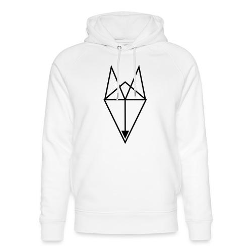 Fox Triangle - Unisex Organic Hoodie by Stanley & Stella