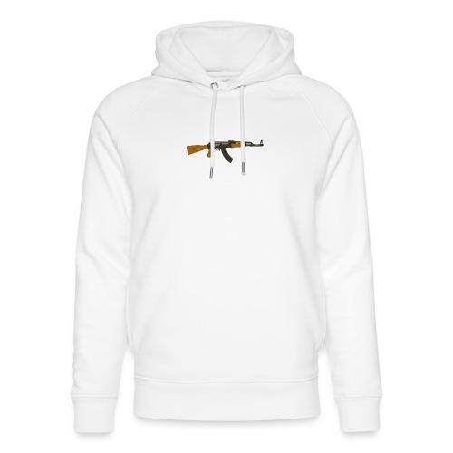 fire-cartoon-gun-bullet-arms-weapon-drawings-png - Uniseks bio-hoodie van Stanley & Stella