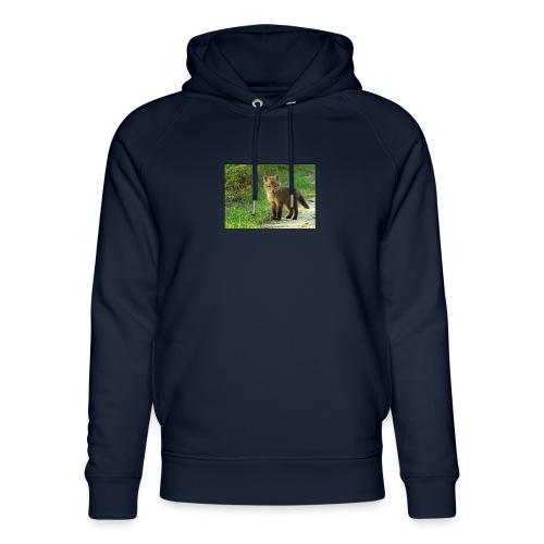vossen shirt kind - Uniseks bio-hoodie van Stanley & Stella