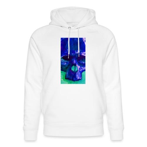 Blue Skull - Uniseks bio-hoodie van Stanley & Stella
