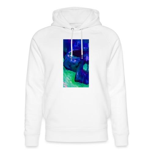 Blue Skull #2 - Uniseks bio-hoodie van Stanley & Stella