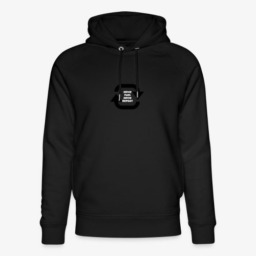 Drive fuel drive repeat - Unisex Organic Hoodie by Stanley & Stella