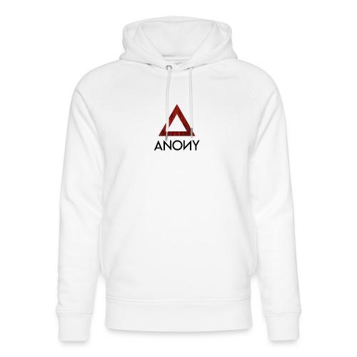 Anony Logo - Sudadera con capucha ecológica unisex de Stanley & Stella
