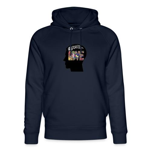 Love in my head - Uniseks bio-hoodie van Stanley & Stella