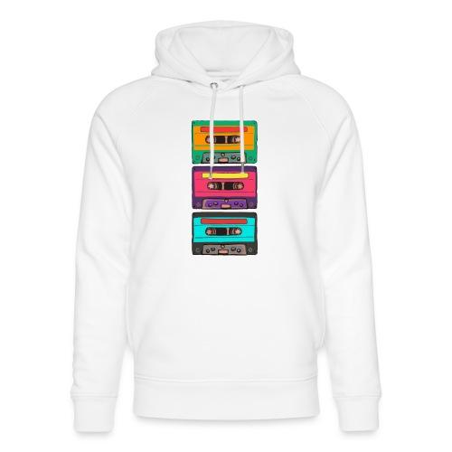 Colorful Cassettes row - Ekologisk luvtröja unisex från Stanley & Stella