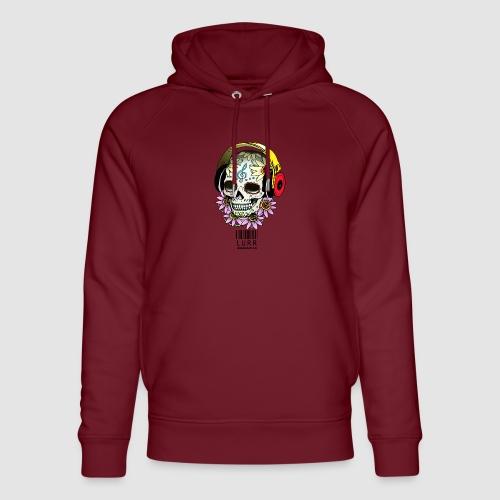 smiling_skull - Unisex Organic Hoodie by Stanley & Stella