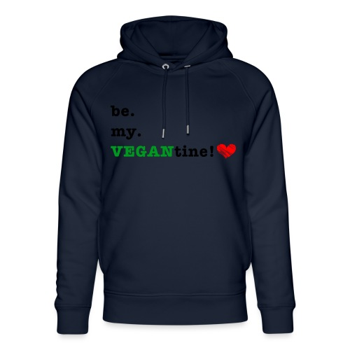 VEGANtine Green - Unisex Organic Hoodie by Stanley & Stella