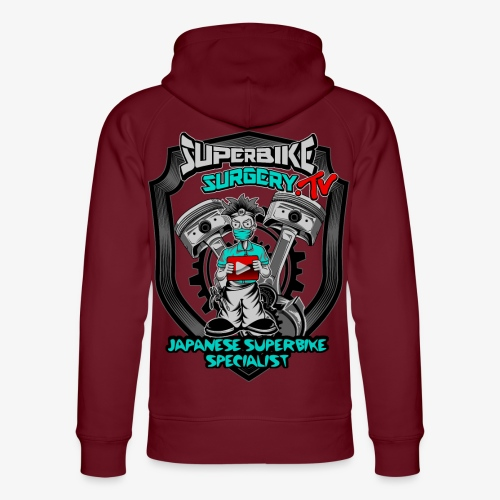 Superbike Surgery TV - Unisex Organic Hoodie by Stanley & Stella