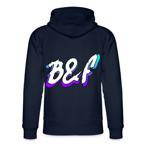 Purple and Blue Fade - Unisex Organic Hoodie by Stanley & Stella