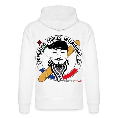FFi Anonymous - Sweat à capuche bio Stanley & Stella unisexe