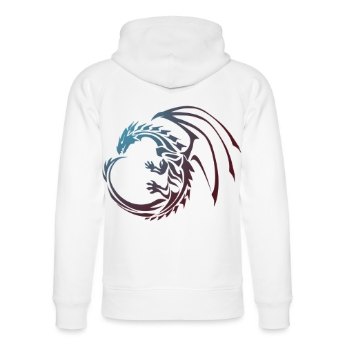 color Dragon - Unisex Organic Hoodie by Stanley & Stella