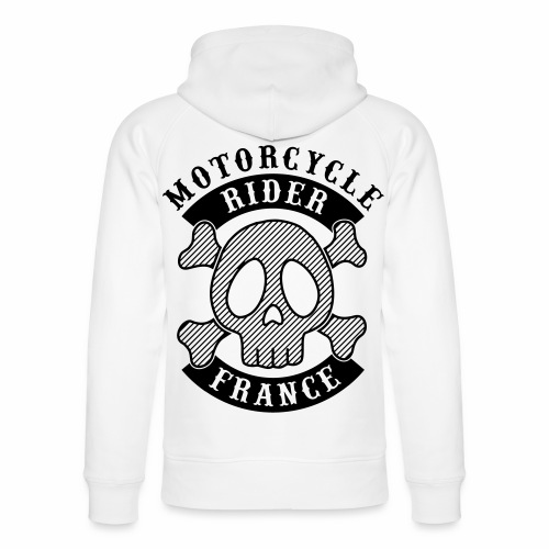 Motorcycle Rider France - Sweat à capuche bio Stanley & Stella unisexe