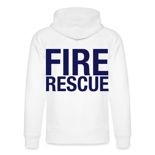 Fire and Rescue - Unisex Organic Hoodie by Stanley & Stella