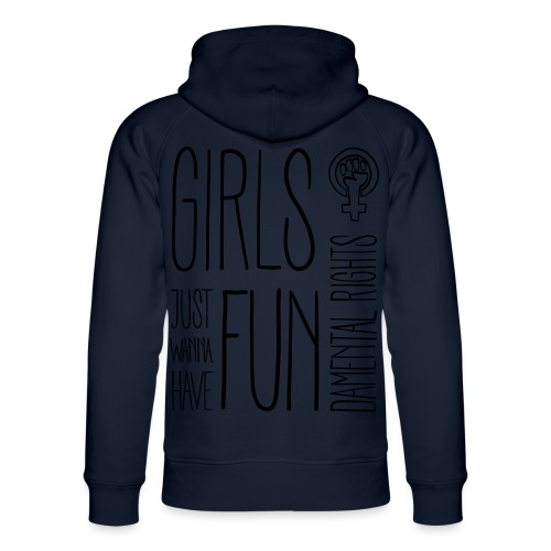 Girls just wanna have fundamental rights - Unisex Bio-Hoodie von Stanley & Stella