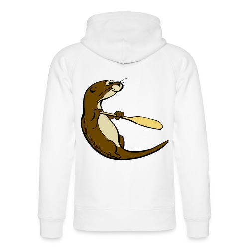 Song of the Paddle; Quentin classic pose - Unisex Organic Hoodie by Stanley & Stella