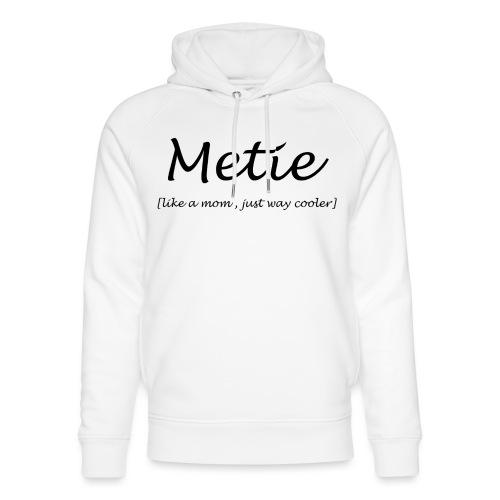 Metie - Uniseks bio-hoodie van Stanley & Stella