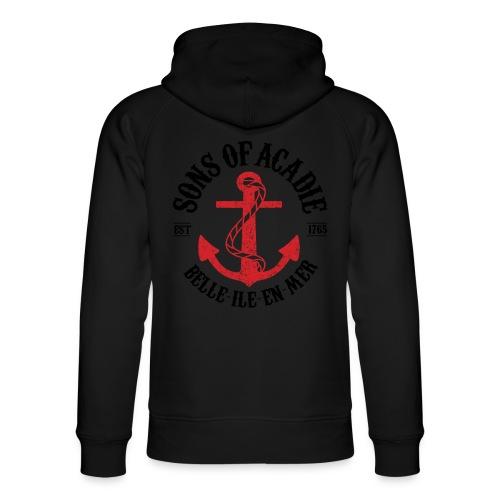 Sons Of Acadie Ancre de Marine - Sweat à capuche bio Stanley & Stella unisexe