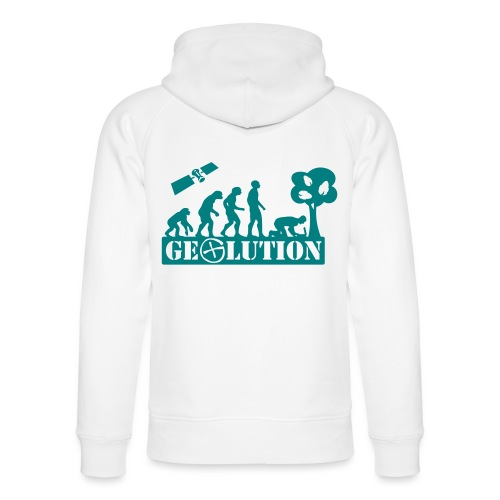 Geolution - 1color - 2O12 - Unisex Bio-Hoodie von Stanley & Stella