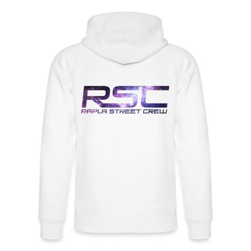 Rapla Street Crew Logo Galaxy - Unisex Organic Hoodie by Stanley & Stella
