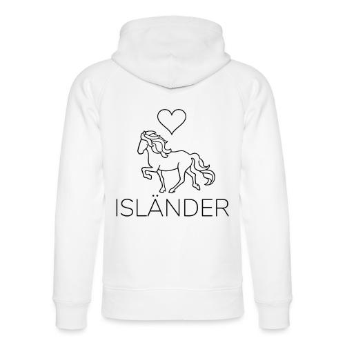 Love Isländer, schwarz - Unisex Bio-Hoodie von Stanley & Stella
