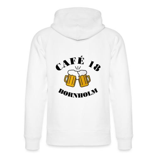 Café 18 Logo 2020 - Stanley & Stella unisex hoodie af økologisk bomuld