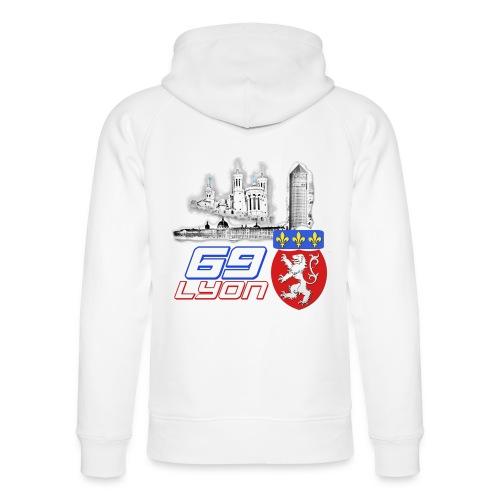 69 Lyon - Sweat à capuche bio Stanley & Stella unisexe