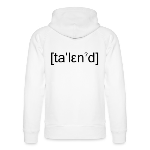 Talent - Stanley & Stella unisex hoodie af økologisk bomuld