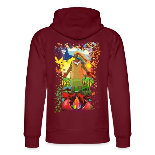Mother Earth Creating - Uniseks bio-hoodie van Stanley & Stella