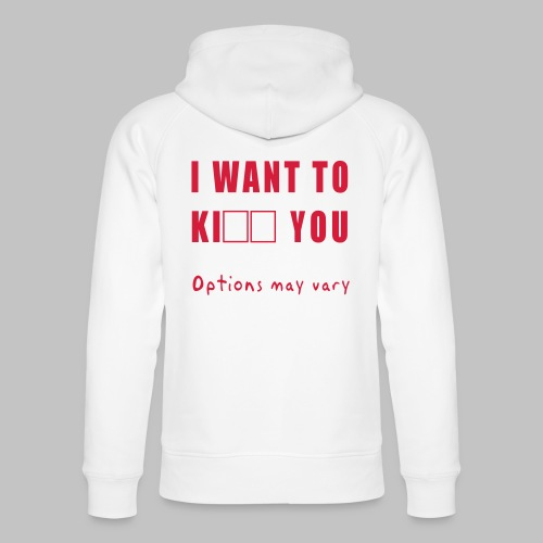 I want to - Unisex Organic Hoodie by Stanley & Stella