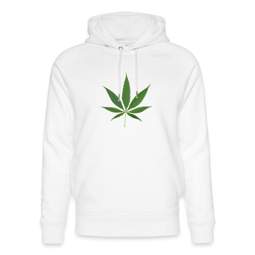 2000px-Cannabis_leaf_2 - Stanley & Stella unisex hoodie af økologisk bomuld