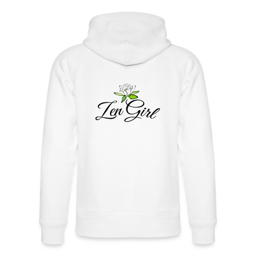 Zen Girl -Lotus Blomma - Prima Vera Design - Ekologisk luvtröja unisex från Stanley & Stella