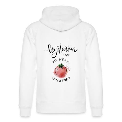 Vegan from my head Tomatoes - Unisex Bio-Hoodie von Stanley & Stella