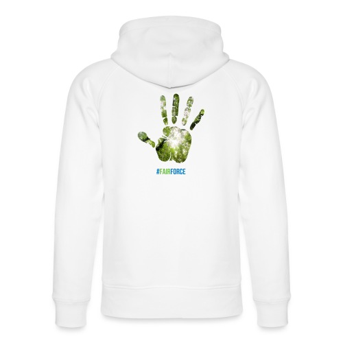 Fairforce Handprint - Unisex Organic Hoodie by Stanley & Stella