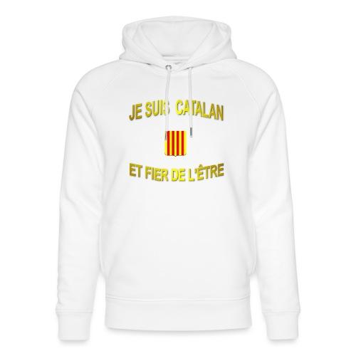 Tee-Shirt supporter du pays CATALAN - Sweat à capuche bio Stanley & Stella unisexe